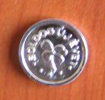 Szerencse pénz ezüst