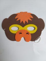 Állatos gyerek  álarc majom