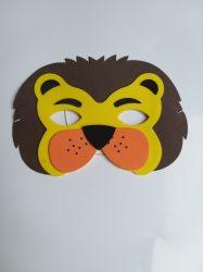 Állatos gyerek  álarc oroszlán