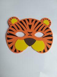 Állatos gyerek  álarc tigris