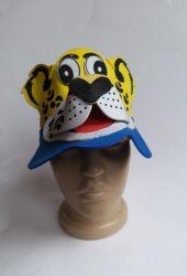 Állatfigurás kalap leopárd