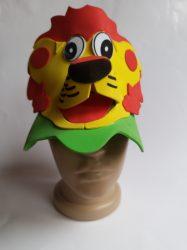 Állatfigurás kalap oroszlán