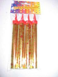 Torta tűzijáték 14,5 cm 4 db/csomag