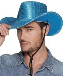 Rodeo kalap, kék