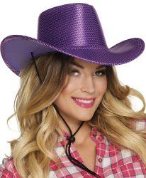 Rodeo kalap, lila
