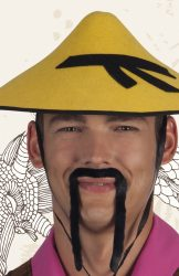 Bajusz, kínai