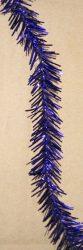 Vékony karácsonyi boa sötét lila színben