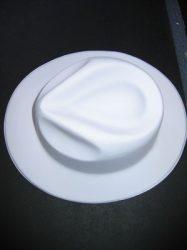 Gengszter kalap, PVC, 2 színben