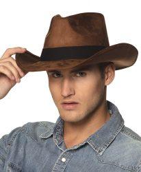 Felfedező kalap barna