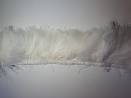 Marabutoll rojt 2-es szövésű fehér