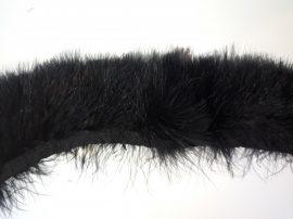 Marabutoll rojt 2-es szövésű fekete