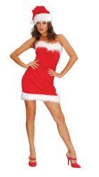 Mikulás ruha Sexy Santa Lady