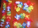 """Hawaii szett  """"flower"""" nyaklánc, fejdísz, kardísz"""