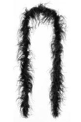 Strucctoll boa, dupla szövésű fekete