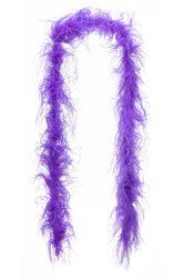 Strucctoll boa, dupla szövésű lila