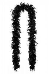 Tollboa 4-es szövésű fekete 180 cm
