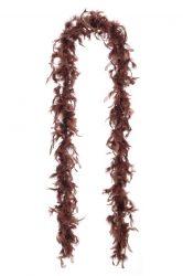 Dekor tollboa 1-es szövésű sötét barna