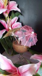 Koktél dísz,  esernyő