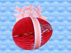 Húsvéti tojás, darázsfészkes mintával