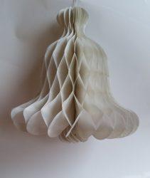Papír Harang dísz fehér 48 cm