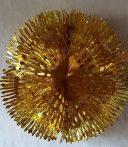 Metál fényű gömb 40 cm átmérővel