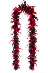 Tollboa 2-es szövésű  piros-fekete mix