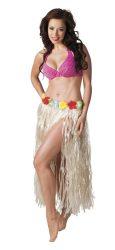 Hawaii szoknya 80 cm hosszú natur