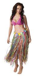Hawaii szoknya 80 cm hosszú színes