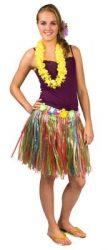 Hawaii szoknya 45 cm hosszú színes