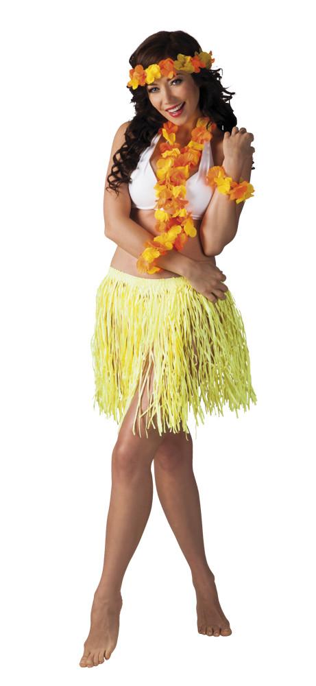 Hawaii szett Kalia nyaklánc, fejdísz, kardísz,