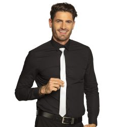 Nyakkendő slim, fehér