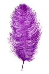 Strucctoll 55-60 cm sötét lila