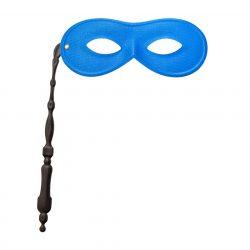 Lornettis szemüveg álarc kék
