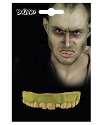 Zombi felső fogsor gumiból