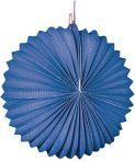Papír lampion, 22 cm-es nehezen gyulladó kék
