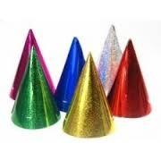 Party kalap hologramos , papír