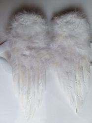 Angyalszárny tollból 45x30cm fehér