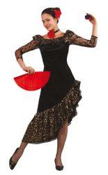 Spanyol táncos lány