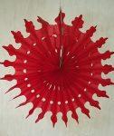 Óriás hópehely, papír, 56 cm