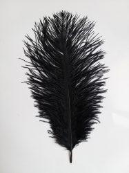 Strucctoll 34-38 cm fekete,