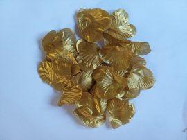 Rózsaszirom 100 db-os, arany