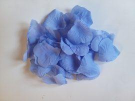 Rózsaszirom 100 db-os,kék