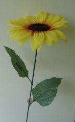 Napraforgó egy virággal80 cm  (mű)