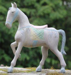 Díszes ló 2. 25 cm magas