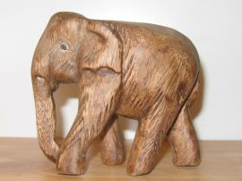 Elefánt 9 cm