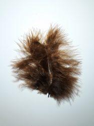 Marabu pihetoll 4-5 cm sötét barna