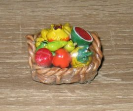 Mini gyümölcskosár