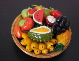 Kicsi gyümölcskosár