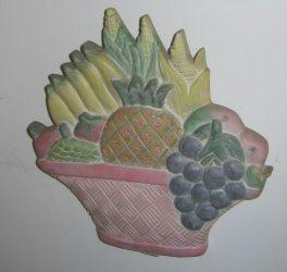 Gyümölcs-zöldség tál 2 színben