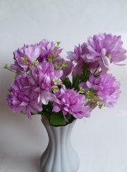 Krizantém csokor 12 virággal (mű)